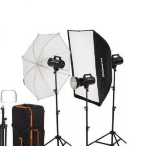 کیت نور فلش عکاسی اتلیه ۳۰۰ژول