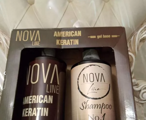 مواد بوتاکس و کراتینه مو همراه شامپو