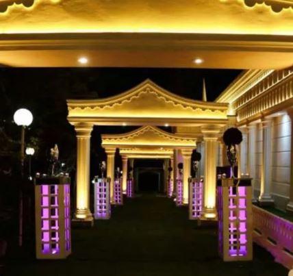 باغ تالار تشریفات مجالس عروسی بدون ورودی فضا باز