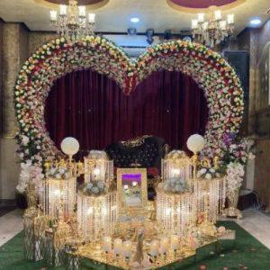 تالار عروسى عقد مراسم کوچک نامزدى تولد